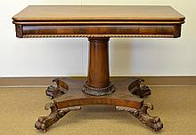 A Drop Leaf Wooden Console Table