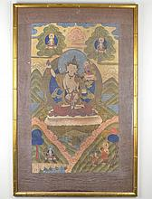 A 19th/20th Century Tibetan Thangka
