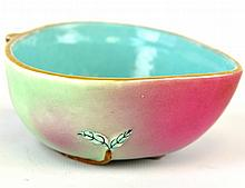 A Chinese Porcelain Peach Bowl, Qing