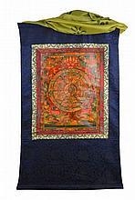 A Thangka of the Wheel of Life, Bhavachakra