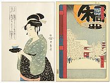 Ando Hiroshige & Kitagawa Utamaro Reprints