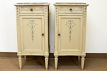 Pair of Late 19th Century Continental Nightstands