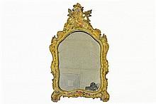 Early 19th Century Venetian Lacca Povera Mirror
