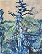 Jacob Epstein 'Epping Forest' Series watercolour