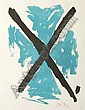 Allen Maddox Grid lithograph 3/18 signed with
