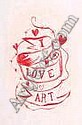 Giovanni Intra I Love Art 295mm x 210mm