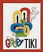 Dick Frizzell Goofy Tiki title inscribed, signed
