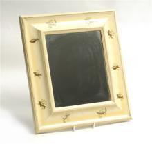 Lacqured Framed Mirror 1920 42cm x 38cm