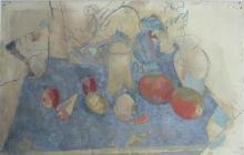 Stella Styne (1907-1987) - Still Life Watercolour