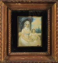 Mother & Child 22cm x 19cm
