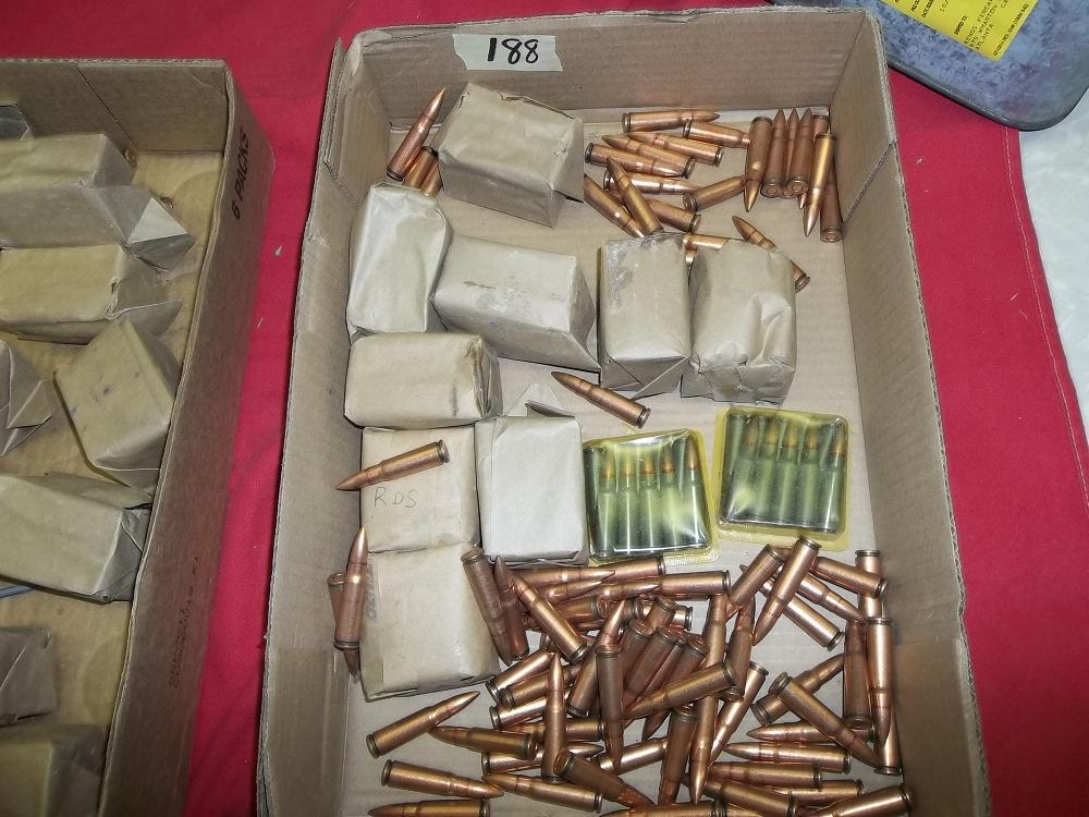 Box Lot 7.62 x 39mm Cartridges