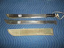 1 knife extra blade w/sheaf