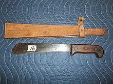 Case XX Knife w/leather sheaf