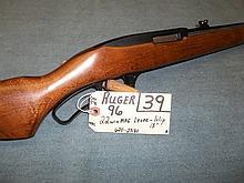 Ruger 96, 22 Win. Mag. Lever, 1 Clip, 620-23180 Reg. Req.