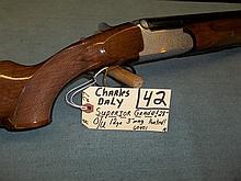 Charles Daly Superior Grade/O/U, 12 Ga. 60401 Reg. Req.