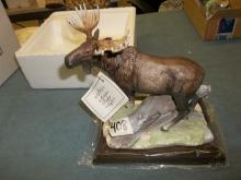 Timberland Moose Porcelain Figurine