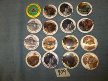 National Wild turkey Federation Buttons