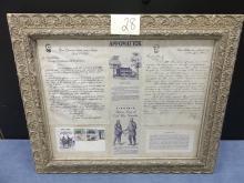 Letters, envelope, Appomattox