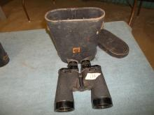 Military Binoculars w/case