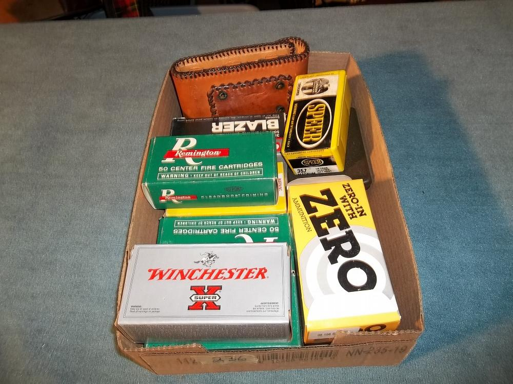 Lrg. Lot of 38/357 Ammo