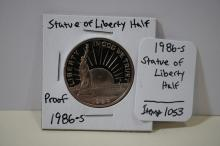 1986-s Statue Of Liberty Half Proof