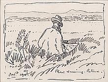 Jacob Hendrik Pierneef (South African 1886-1957) PIETER WENNING, PRETORIA s