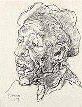 Gregoire Johannes Boonzaier (South African 1909-2005) OU GRIEKWA signed and