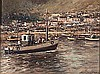 Christiaan St Patrick Nice (South African 1939-) FISHING BOAT signed oil on, Christiaan St Patrick Nice, R9,500