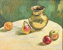 Carl Walter  Meyer (South African 1965-) STILL LIFE signed and dated 10; si