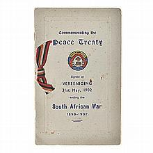 Stone, Frank Capt. SOUTH AFRICAN WAR VETERANS ASSOCIATION COMMEMORATIVE BOO