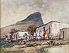 Christiaan St Patrick Nice (South African 1939-) HOUSES AND WASHING LINE si, Christiaan St Patrick Nice, R8,000