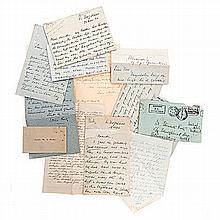 Various LETTERS TO CORRIE REITZ, SECOND WIFE OF PRESIDENT F. W. REITZ OF TH