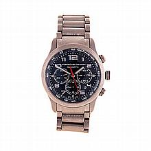 A GENTLEMAN'S TITANIUM WRISTWATCH, PORSCHE DESIGN reference number: 6612, t