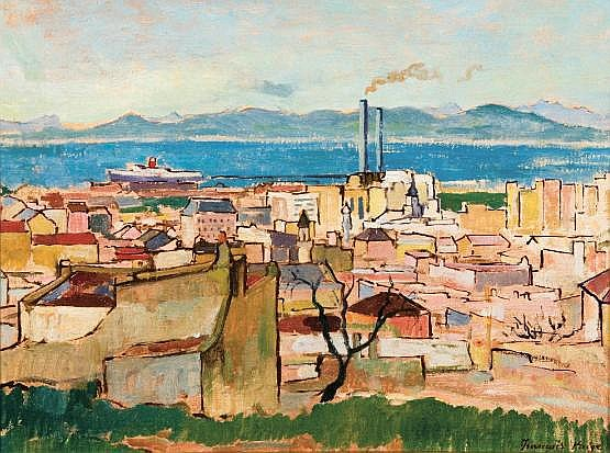 François Krige (South African 1913-1994) A VIEW OF