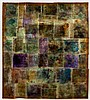 Gail Catlin (South African 1948-) MOSAIC PANEL signed and dated 2004 liquid crystal and resin Catlin, Gail Catlin, R20,000