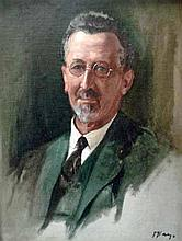 Dorothy Kay (South African 1886-1964) MAYOR HERBERT RUSSELL PRITCHETT signe