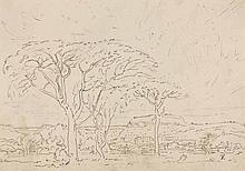 Jacob Hendrik Pierneef (South African 1886-1957) KRANSKOP signed with the a