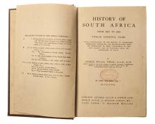THEAL, G. M. HISTORY OF SOUTH AFRICA BEFORE 1795, 3 VOLS; 1873 - 1884, 2 VO
