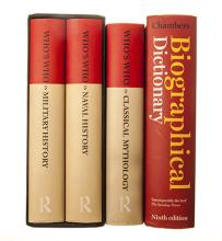 Various THE REFERENCE COLLECTION ? CHAMBERS BIOGRAPHICAL DICTIONARY, 2011,