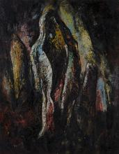 Albert Newall (South African/British 1920-1989) ABSTRACT BOULDERS signed an
