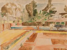 Maud Frances Eyston Sumner (South African 1902-1985) JOHANNESBURG SUBURB si