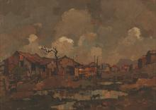 Gregoire Johannes Boonzaier (South African 1909-2005) DESOLATION signed and
