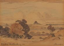Jacob Hendrik Pierneef (South African 1886-1957) BLESKOP RUSTENBURG TVL. si