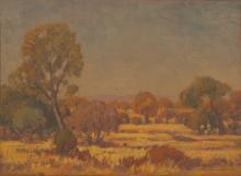 Jacob Hendrik Pierneef (South African 1886-1957) VELD LANDSKAP signed and d