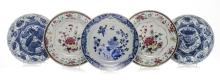 A PAIR OF CHINESE FAMILLE ROSE BOWLS, QIANLONG, 1736-1795 each painted with