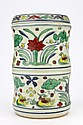 Chinese Dou Chai Cylindrical Vessel with Lid