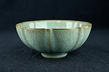 Chinese Song Porcelain Crackle Bowl