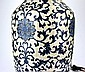 Large Chinese Blue & White Vase/Lamp