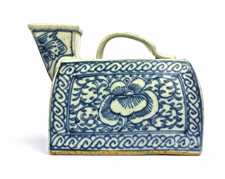 Chinese Blue & White Ceramic pot