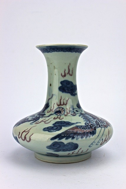 Chinese Ceramic Blue & White Vase